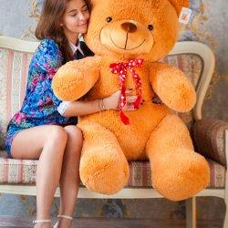 Плюшевий ведмедик - чудовий подарунок!