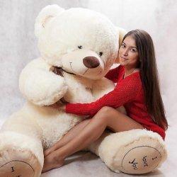 Які переваги від подарунка великий плюшевий ведмедик?