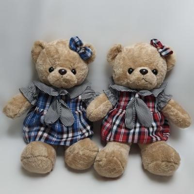 Ведмедик - дівчинка в сукні