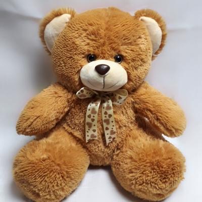 Ведмедик Бімка з бантом кольоровий