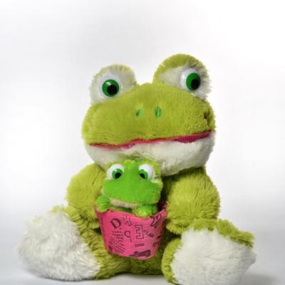 Лягушка с лягушкой