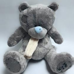 Ведмедик Тедді з шарфом