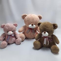 Ведмедик сидячий з вишивкою Love
