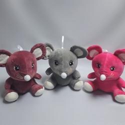 Мышка велюровая