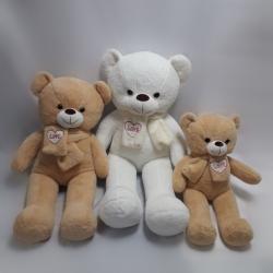 Ведмедик з шарфом Love