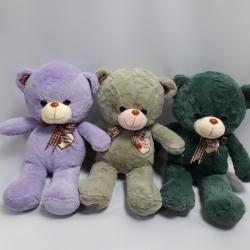 Ведмедик кольоровий з вишивкою