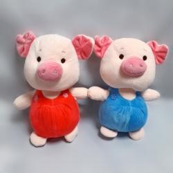Свинка в комбенизоні