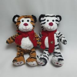 Тигрики з шарфом