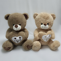 Ведмедик з серцем сидячий