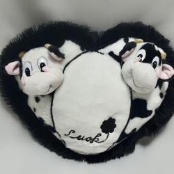 Подушка з корівками