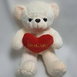Ведмедик махровий з серцем