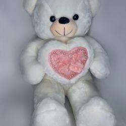 Ведмедик мутоновий з серцем