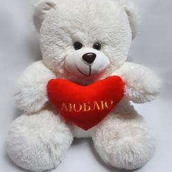 Ведмедик Бімка з серцем