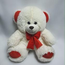 Ведмедик Бімка з велюровим бантом