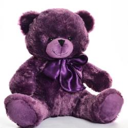 Мишка фиолетовый